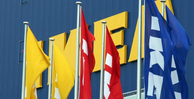 An Ikea storefront